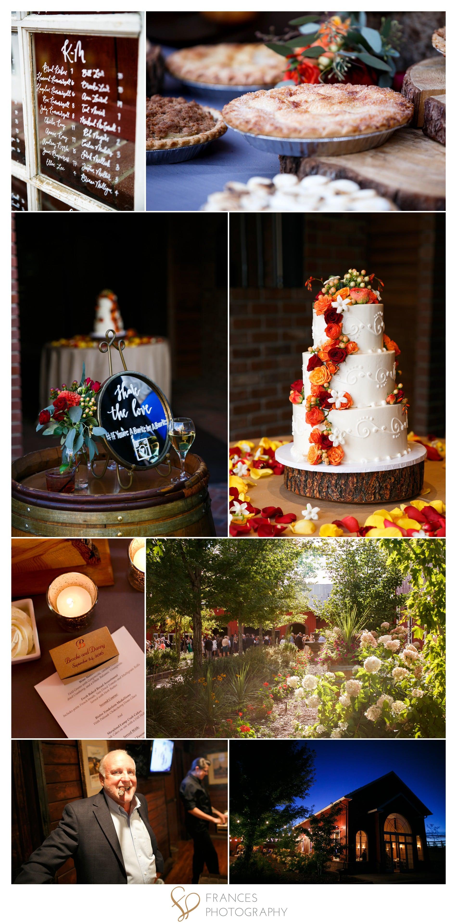 Wedding detail photos Crooked Willow Farm