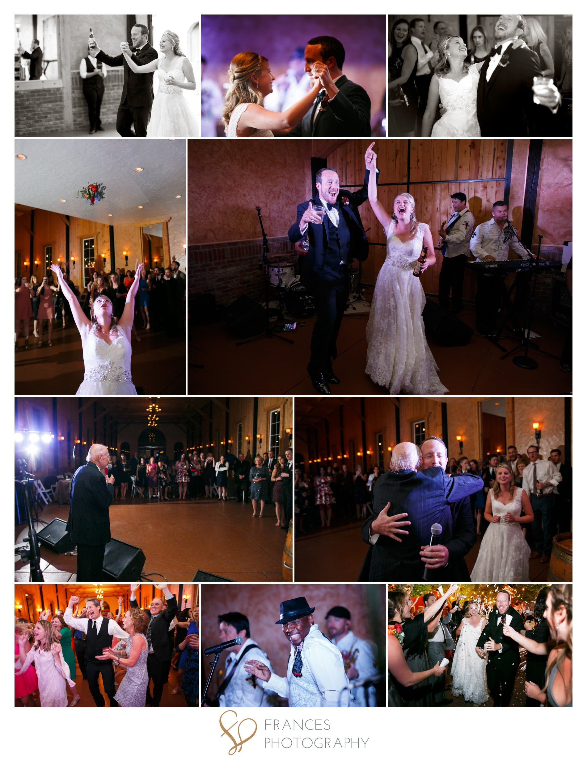Wedding reception images Crooked Willow Farm